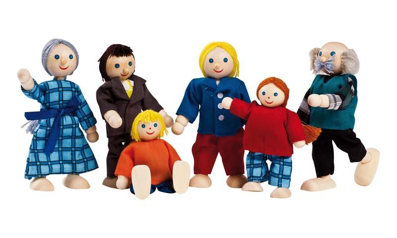 Puppen für Puppenhäuser04/97502