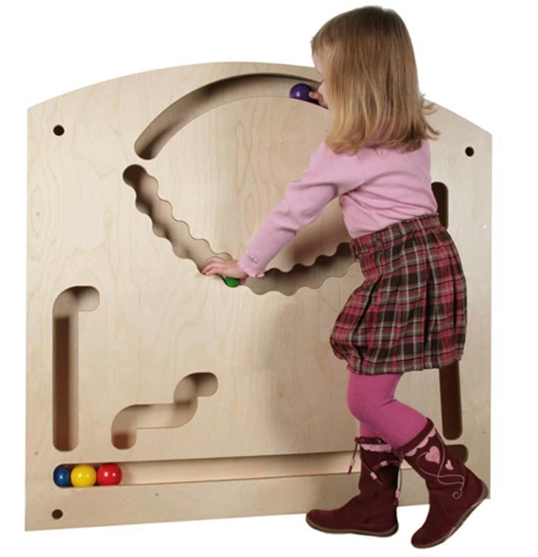 gro e wand kugelbahn fr belgaben lernspielzeug. Black Bedroom Furniture Sets. Home Design Ideas