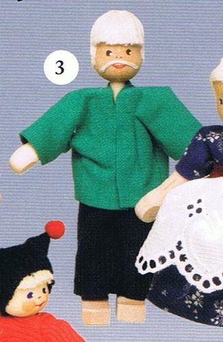 Puppen für Puppenhäuser04/97323