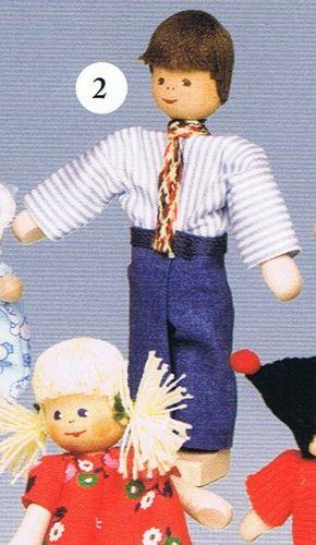 Puppen für Puppenhäuser04/97318